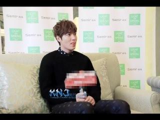 [140113]Lee Min Ho - KNJ流行全日韓 Radio Interview Record