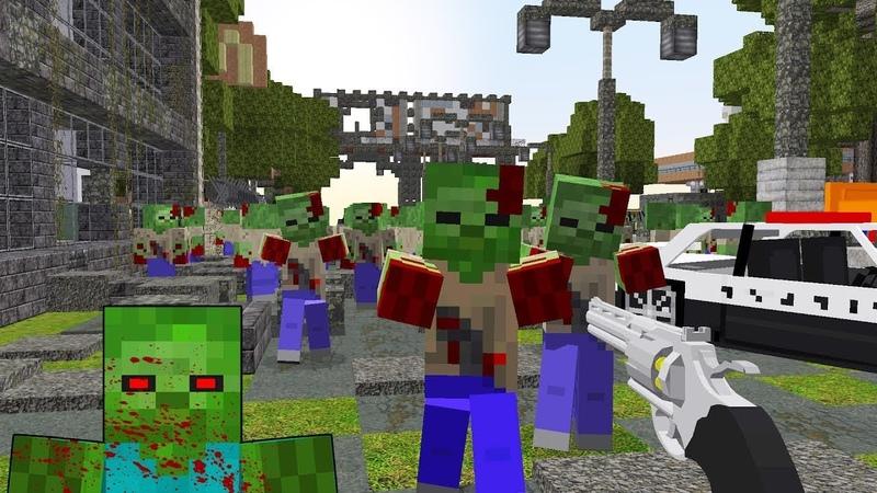 играть в майнкрафт зарегистрироваться зомби апокалипсис #1