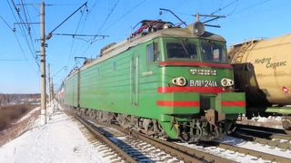 4 грузовых: ВЛ11М-241, 2ТЭ116У-0193 и другие...Посёлок Киевский (Бекасово-Сортировочное)