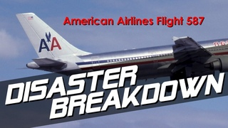 Pilot Rips The Tail-fin From Their Plane (American Airlines Flight 587) - DISASTER BREAKDOWN