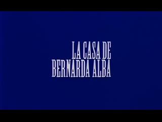 Mario Camus La casa de Bernarda Alba 1987