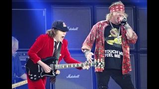 AC/DC and Axl Rose - BACK IN BLACK HD - Ceres Park, Aarhus, Denmark, June 12, 2016