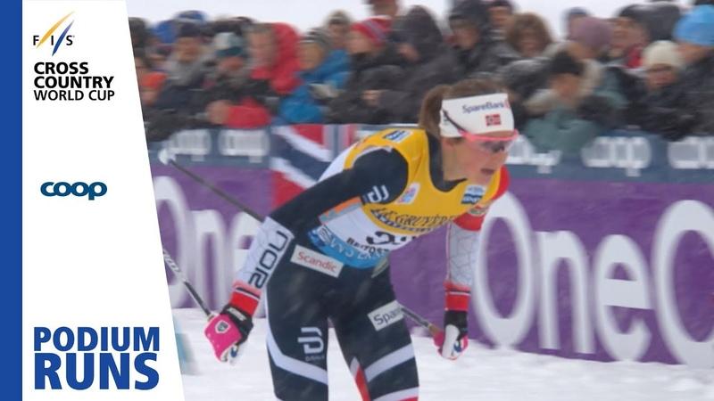 Ingvild Flugstad Oestberg Ladies' 15 km Beitostølen 3rd place FIS Cross Country