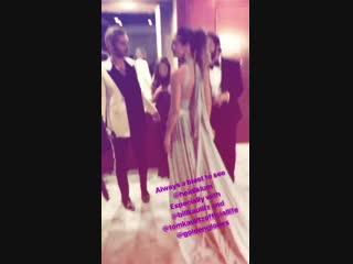 Kaulitz Twins & Heidi Klum at the Golden Globes After-Party -