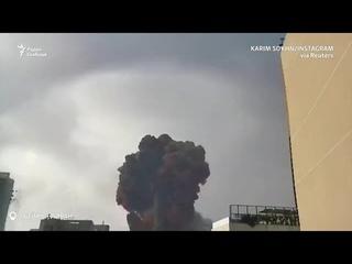 Мощный взрыв в порту Бейрута, не менее 10 погибших
