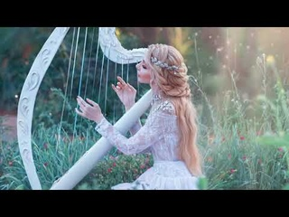 Relaxing Ambience 😌 Beautiful Harp Music to Relax 😌 Calm Harp Instrumental