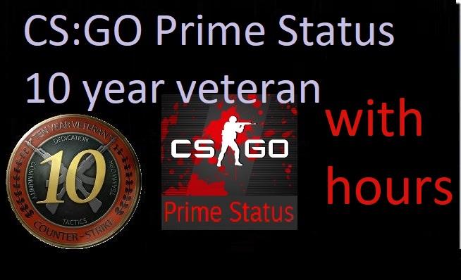 7dig CS:GO Prime Status 10 year veteran +OE