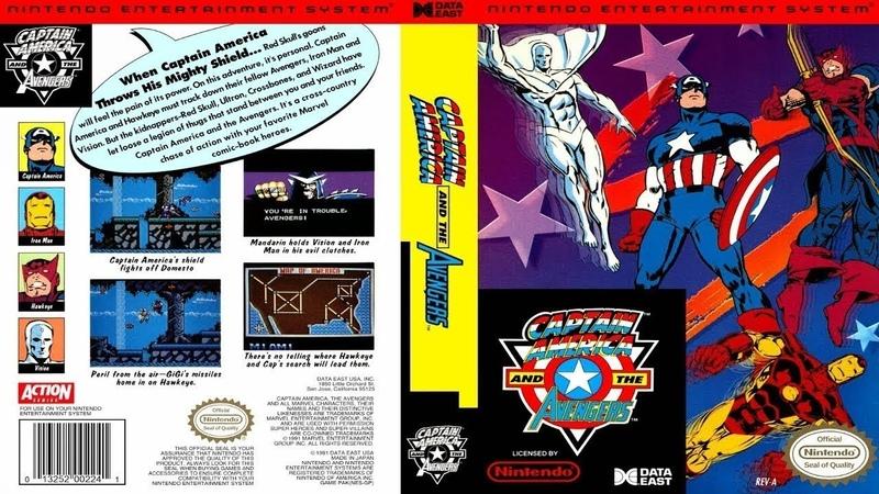 Проходим взлом Captain America and the Avengers RUS NES