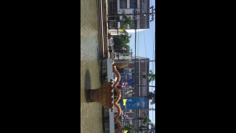 Рыбки возле храма 🐟🇹🇭