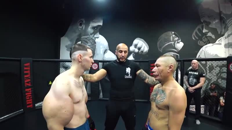 Бой Олег Монгол против Руки Базуки