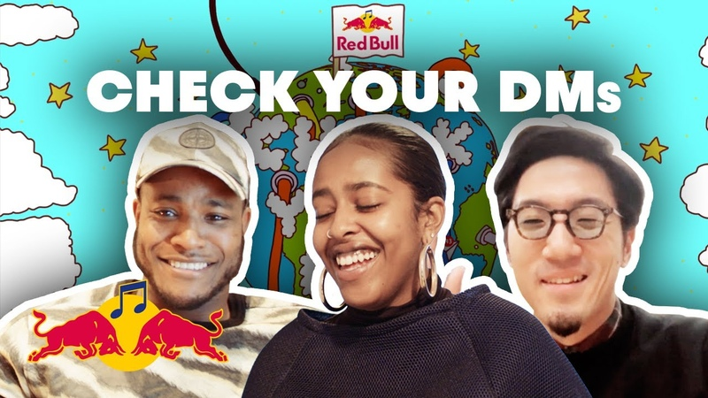 UK Garage meets Japanese Rap and Dutch Soul in New Online Collab | Red Bull Check Your DMs EP 1