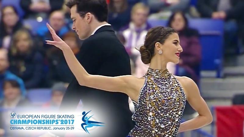 European Figure Skating Championships 2017 SD Tina Garabedian Simon Proulx Senecal