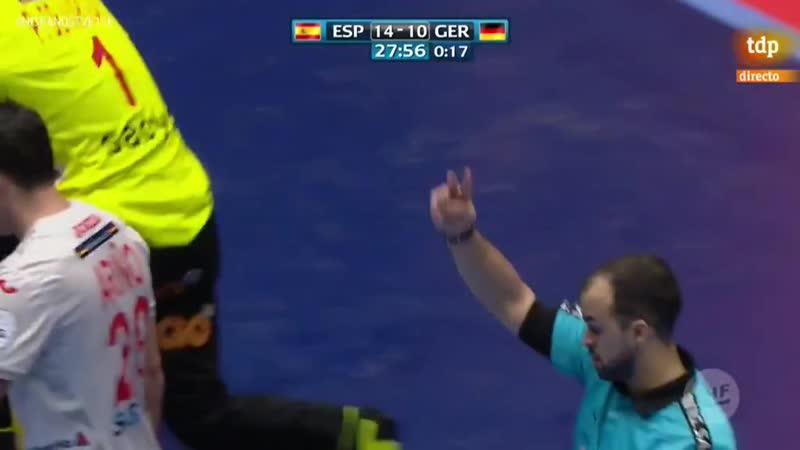 Campeonato de Europa Masculino España Alemania