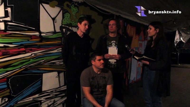 Cyber snake TV Fest (Интервью с группой Упала 8, рок-клуб Культурные пьяницы 26.02.2016)