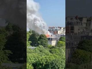 Un incendie s'est déclaré rue de Varennes près du Palais Matignon, résidence du Premier ministre.