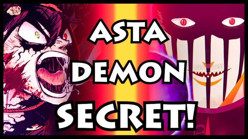 The REAL Reason why Asta's Demon is SPECIAL Black Clover Dante Reveals Asta's Devil Secret