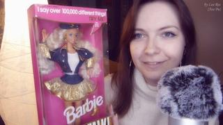 ASMR АСМР Распаковка Барби 90-х Barbie Super Talk 🗣Она любит поговорить😃
