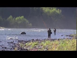 Рыбалка в Хакасии. Река Она, август 2020 года.