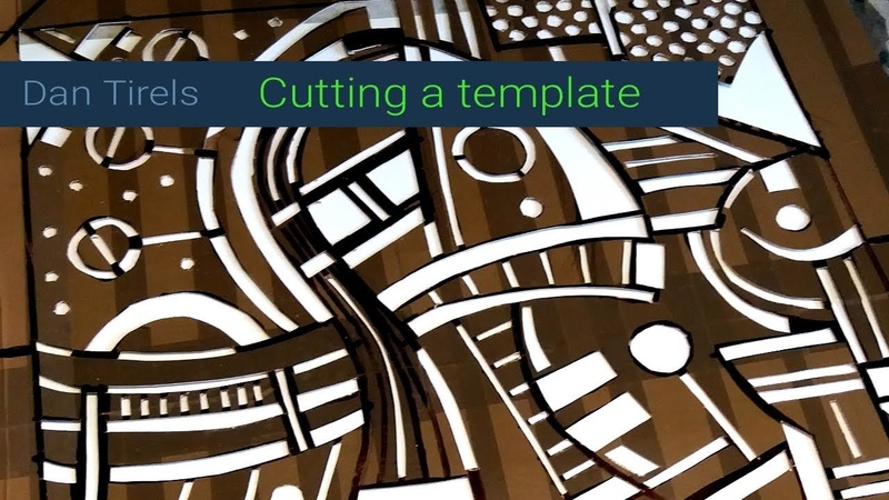 Cutting a template a quick easy demo (low budget)