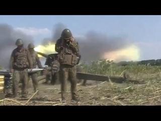 За Родину 300 - 30 -3 ! Работает артиллерия по позициям террористов в Первомайске.Видео | Донецк