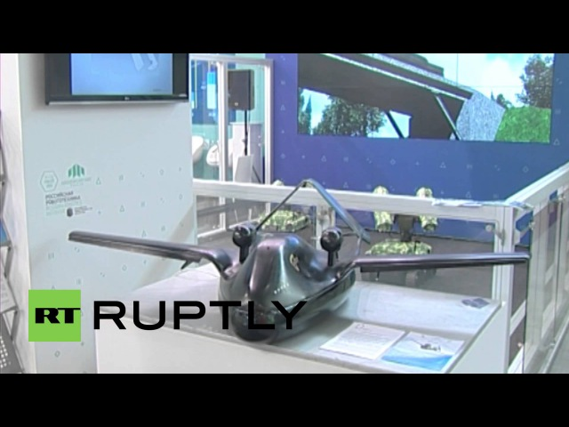 Russia New killer Chirok drone with unique air cushion landing system unveiled at Innoprom 2014