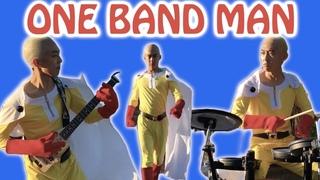 ワンパンマンTHE HERO一人で全パートカバーした ONE PUNCH MAN Full Band Cover The Hero