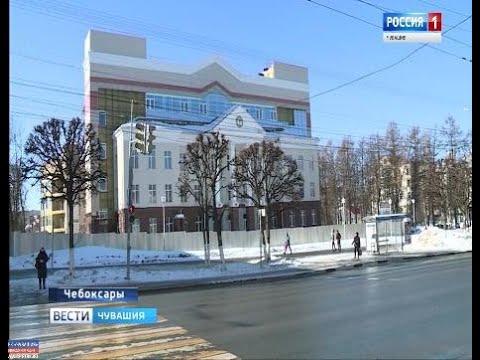 Строящуюся поликлинику в центре Чебоксар могут сдать уже в этом году