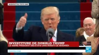 REPLAY - Discours d'investiture de Donald Trump, 45ème président des États-Unis
