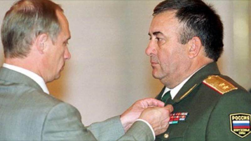 Мухридин Ашуров Генерал лейтенант танковых войск Герой Российской Федерации