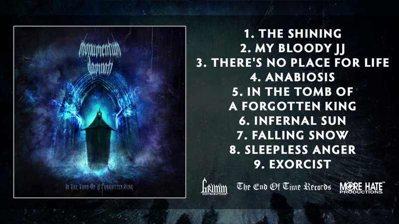 Monumentum Damnati - In The Tomb Of A Forgotten King [Full Album Death-Doom Metal HQ]