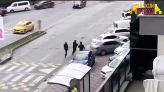 Bahçeşehir'de Çeçenler ile Gürcülerin  Çatışma Anları