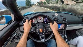 Porsche Boxster 718 Cabrio ( 2.0 300HP ) | POV Test Drive