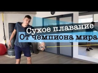 Сухое плавание   6 лучших упражнений на суше для плавания от чемпиона МИРА и ЕВРОПЫ!!!