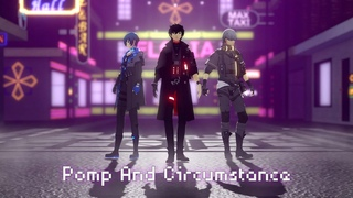 [MMD Persona]Pomp and Circumstance[P 3 4 5 Heros]