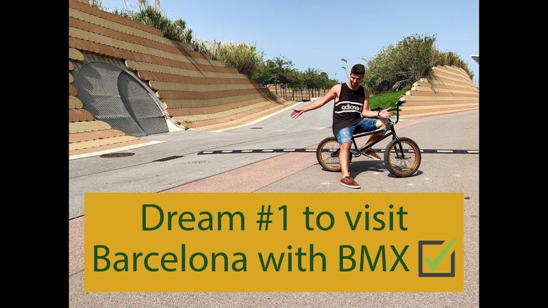 Dream 1 to visit Barcelona with BMX. BCN BMX