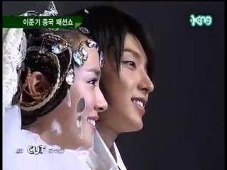 2006 Andre Kims Fashion show in China - Lee Jun Ki, Han Ji Min