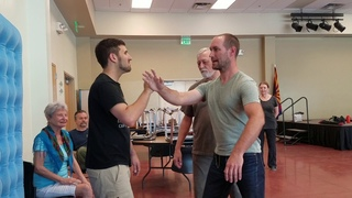 Wind River Tai Chi - learning how to issue from push hands