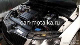 Установка подмотки спидометра (крутилки спидометра) на Skoda Octavia A7