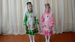 Дуэт Биктимирова Анелия и  Юнусова Карина,  с.Кандры, «Дуэт» (эстрадный вокал), 6-9 лет. Дусларга