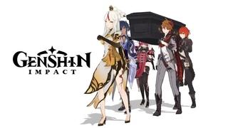 【Genshin Impact MMD】Coffin Dance【Genshin Impact MEMES】