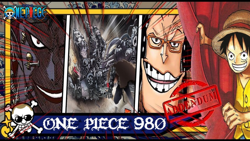 One Piece 980 Addendum Kid vs Apoo A Luta do Século