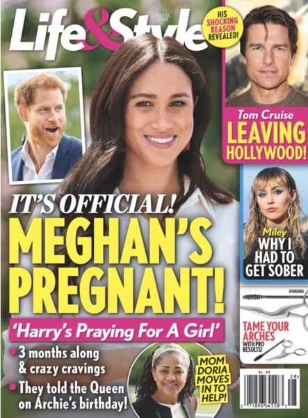 Меган Маркл ждет второго ребенка и уже сообщила об этом королеве