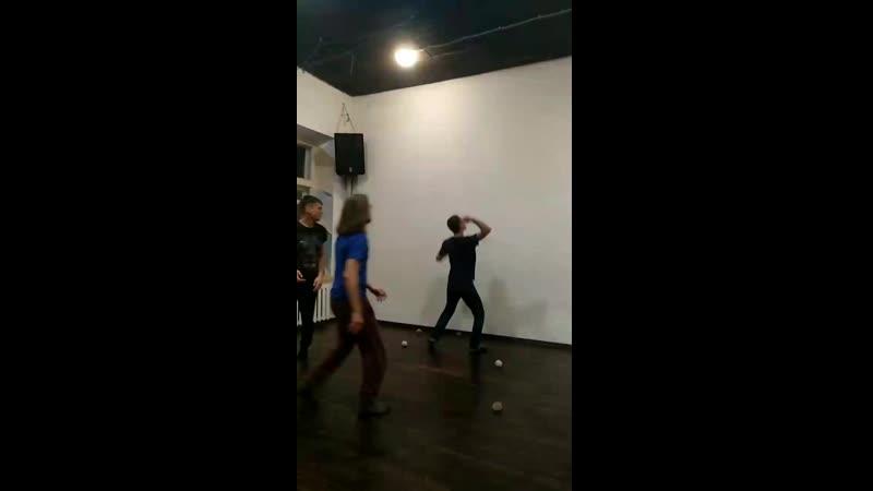 Жонглёрская игра от Вадима паравозик