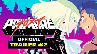 PROMARE [Official Trailer #2 - English Dub, GKIDS]