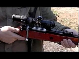 Стрельба из карабина Лось снятая со скоростью 600 кадров в секунду.