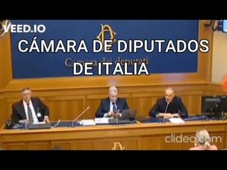INTERVENCIÓN DEL DOCTOR BACCO EN LA CÁMARA DE DIPUTADOS DE ITALIA