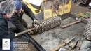 If the shafts are worn out and loose, we show a little trick/Если валы износились и болтаются, показ