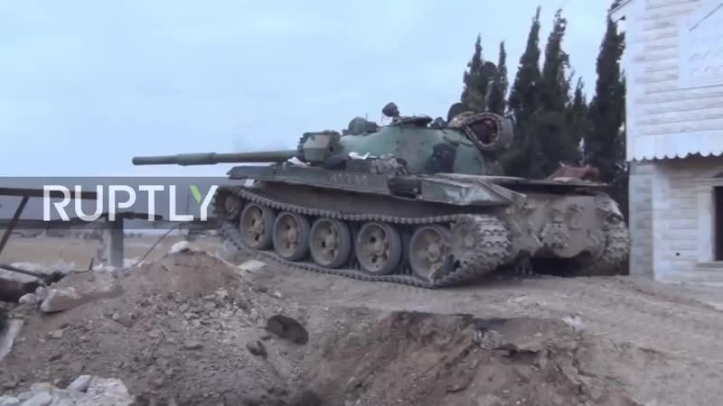 Siria EAS recupera zonas estratégicas en Ghouta