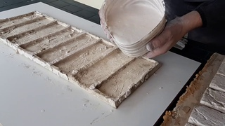 ДЕКОРАТИВНЫЙ кирпич ИЗ ГИПСА СВОИМИ РУКАМИ. Как сделать имитацию кирпичной кладки на стене.