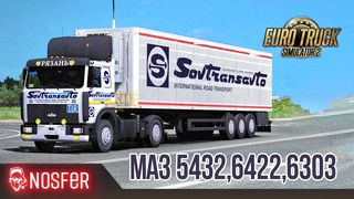 🚦Euro Truck Simulator 2 - МАЗ 5432 от Виталия Иванушкина 🚛